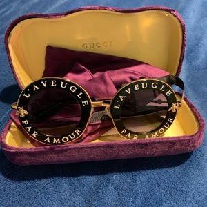 Gucci Sunglasses L'Aveugle Par Amour